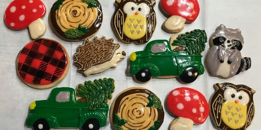 Woodland Friends Holiday Cookie Class