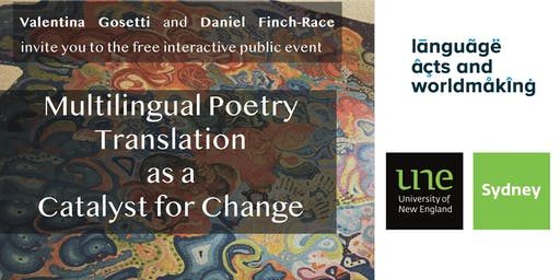 FREE WORKSHOP: Multilingual Poetry Translation as a Catalyst for Change
