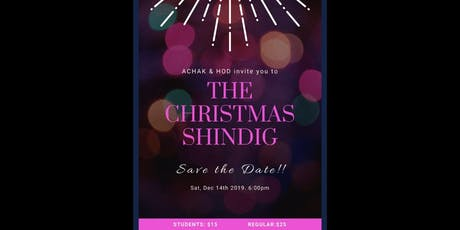 THE CHRISTMAS SHINDIG tickets