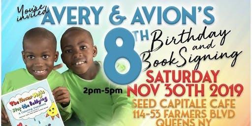 Avery & Avion's Birthday Book Launch Party