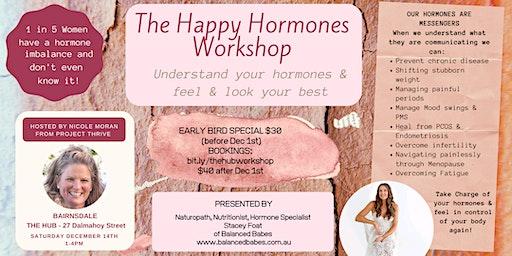 The Happy Hormones Workshop - Understand your hormones & feel your best