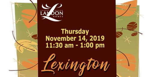 Festive Fall Luncheon with Landon Homes