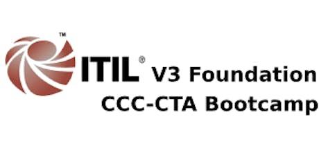 ITIL V3 Foundation + CCC-CTA 4 Days Bootcamp in Atlanta, GA tickets