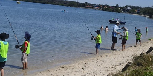 Kids School Holiday Fishing Lesson Victoria Point