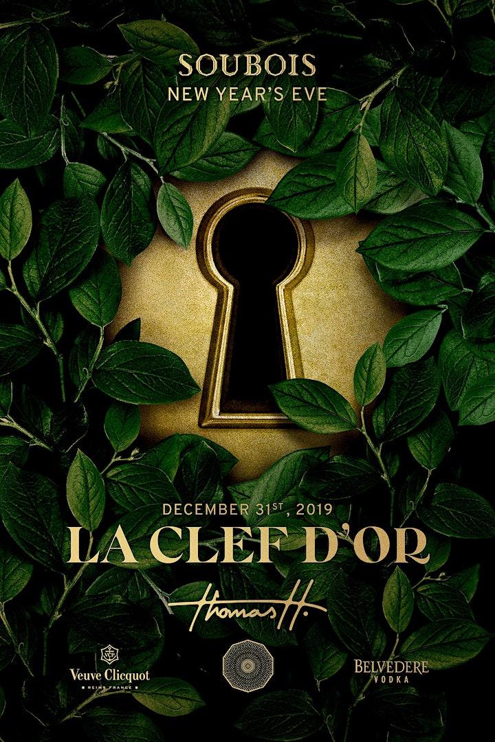 La clef D'or Nye 2020 @ Soubois image