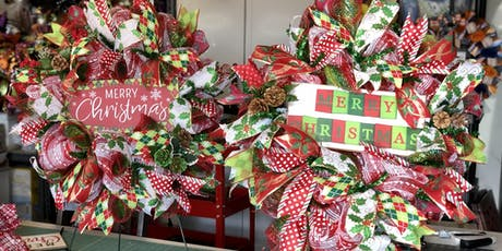 Three Elle Creations Wreath Making Class tickets