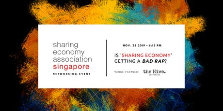 Is 'Sharing Economy' Getting A Bad Rap? tickets