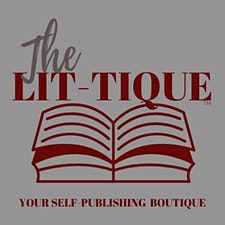 The Lit-Tique, Publishing Boutique logo