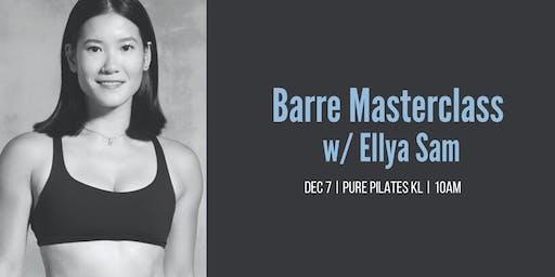 Barre Masterclass w/ Ellya Sam