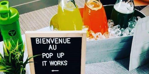 Soirée POP UP ITWORKS au KINIPI