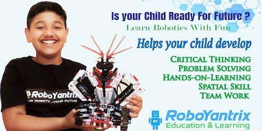 FREE Robotics Kids Trial Class (Age 6-14 yrs) by Roboyantrix