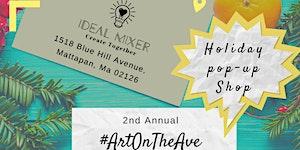 #ArtOnTheAve Holiday Pop-up Shop