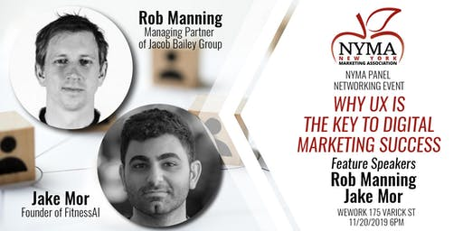 NYMA Panel Networking Event -Why UX is the Key to Digital Marketing Success