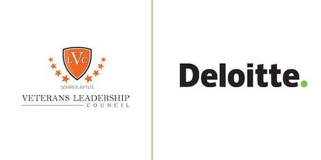 VLC D.C. Veteran Cohort Networking Event, Sponsored by Deloitte tickets