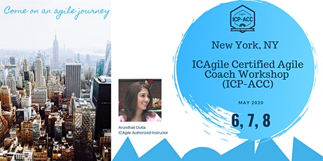 ICP-ACC Agile Coach Certification Workshop New York tickets