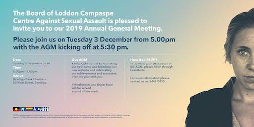 Loddon Campaspe Centre Against Sexual Assault AGM