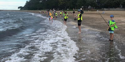 Kids School Holiday Fishing Lesson - Shorncliffe