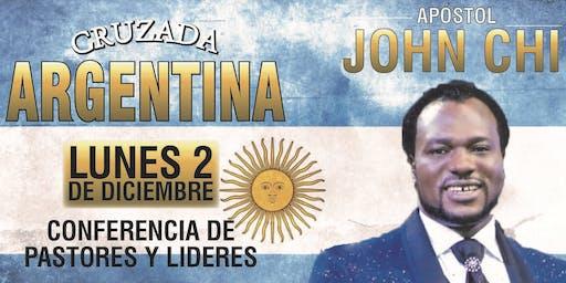 Conferencia de Pastores - Apóstol John Chi en Argentina