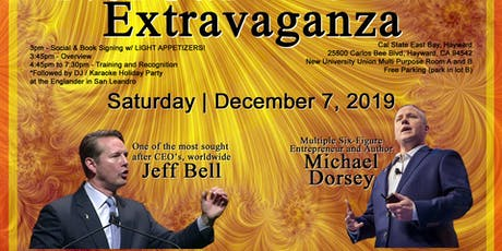 You're Invited to NorCal's End of Year Extravaganza with CEO JEFF BELL & Best Selling Author MICHAEL DORSEY tickets