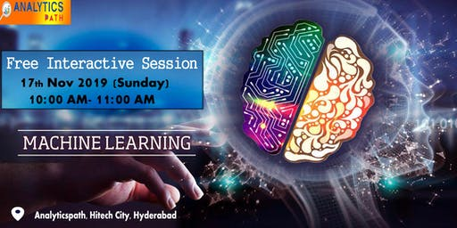 Register For Machine Learning Free Interactive Session On 17 Nov By Experts