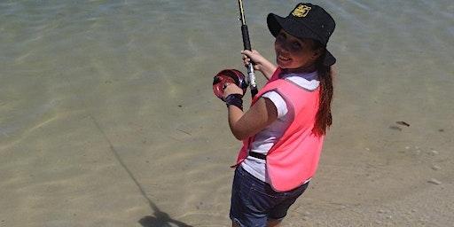 Kids School Holiday Fishing Lesson Currumbin