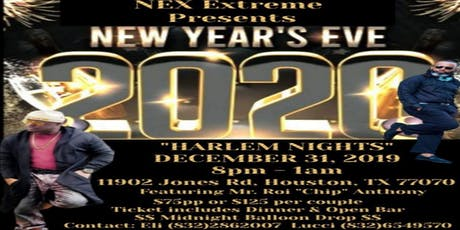"NYE 2020 ""HARLEM NIGHTS"" Celebration tickets"