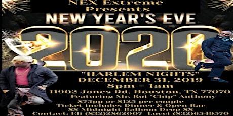 """NYE 2020 """"HARLEM NIGHTS"""" Celebration tickets"""