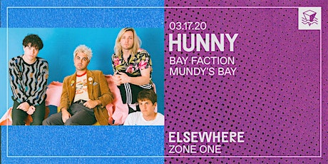 HUNNY @ Elsewhere (Zone One) tickets