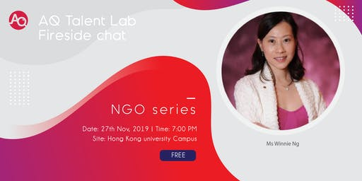 AQ Talent Lab Fireside chat- NGO series