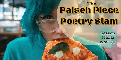 The Paiseh Piece Poetry Slam