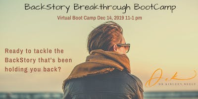 BackStory Breakthrough Boot Camp