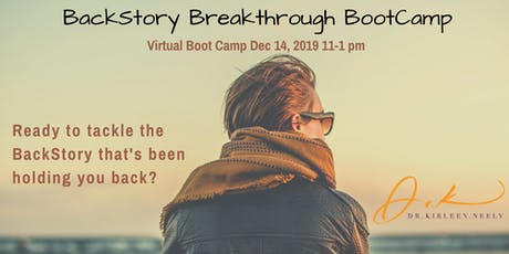 BackStory Breakthrough Boot Camp tickets