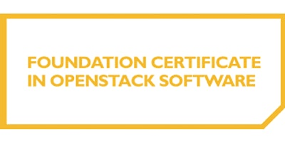 Foundation Certificate In OpenStack Software 3 Days Training in Seattle, WA