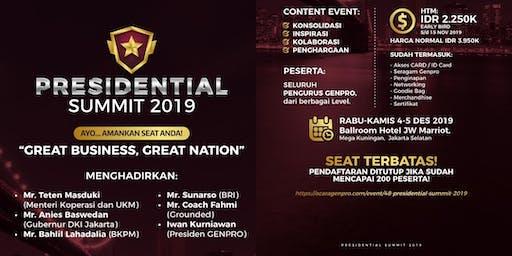 Genpro Presidential Summit