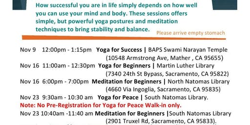 MEDITATION FOR BEGINNERS (Isha Kriya )-  Free and open to all