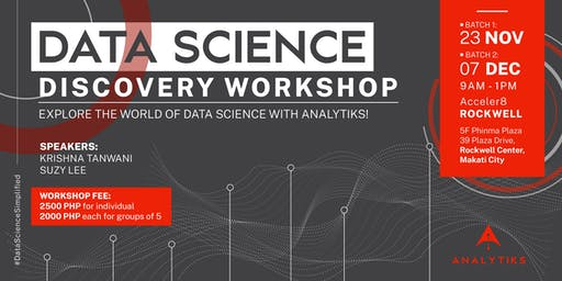 Data Science Discovery Workshop