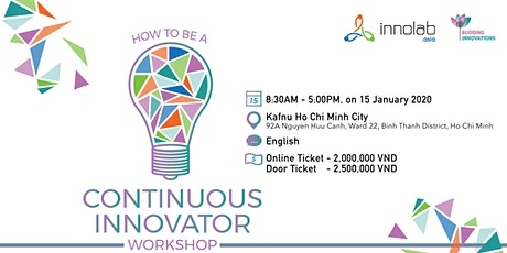 Workshop: How to be a continuous innovator? tickets