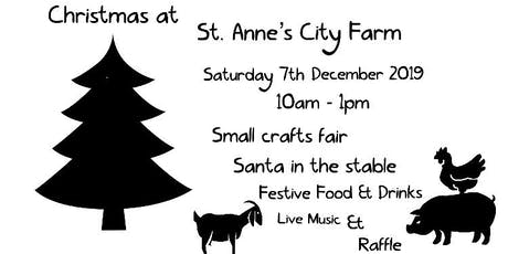 Christmas at St. Anne's City Farm tickets