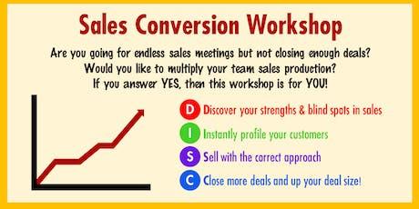 ActionCOACH Sales Conversion Workshop  tickets