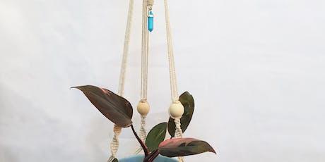 Make a Macrame Plant Hanger tickets
