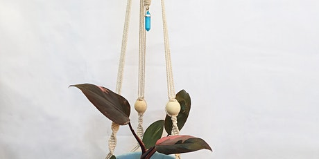 Make a Macrame Plant Hanger tickets