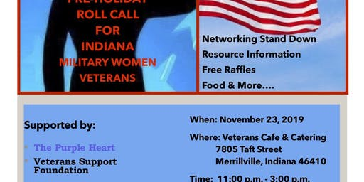 Roll Call for Indiana Military Women Veterans
