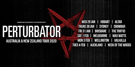 PERTURBATOR - Hobart tickets