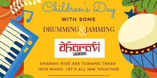 Children's day event with Dharavi Rocks