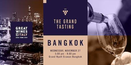 Great Wines of Italy 2019: Bangkok Grand Tasting tickets