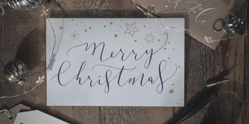 The Art of Modern Calligraphy Christmas Workshop