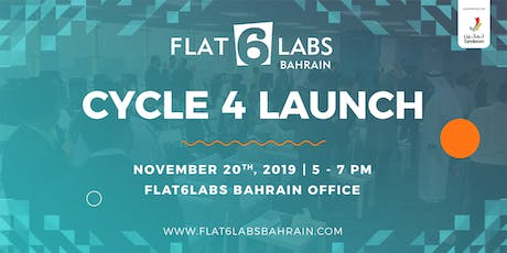 Flat6Labs Bahrain Cycle 4 Launch tickets