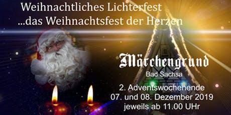 Weihnachtliches Lichterfest - Ein Weihnachtsfest der Herzen Tickets