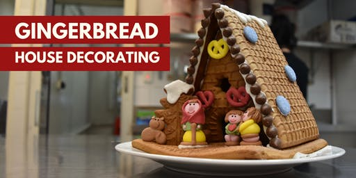 Gingerbread house decorating – Session one