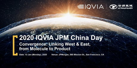 Convergence:  Linking West & East, from Molecule to Product tickets